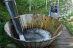 Ökologisch korrekte Waschmaschine